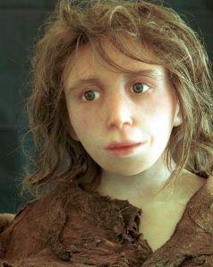 Girl-neanderthals
